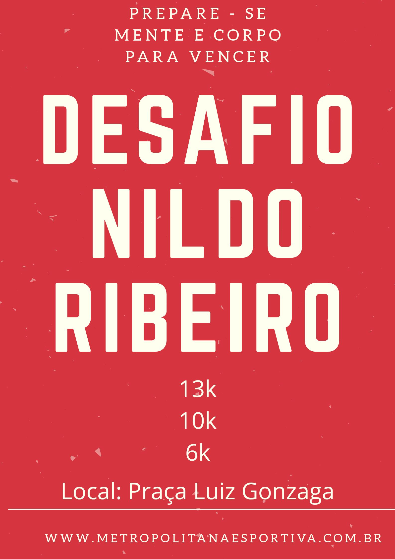 DESAFIO NILDO RIBEIRO